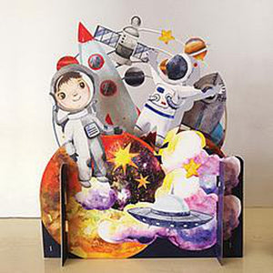 3D Pop Up Card - Astronaut-Nook and Cranny - 2019 REI National Gift Store of the Year