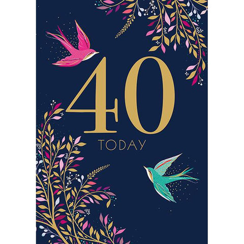 40 Today - Card-Nook & Cranny Gift Store-2019 National Gift Store Of The Year-Ireland-Gift Shop