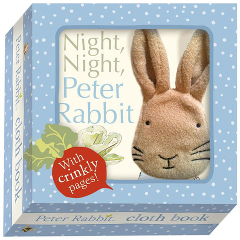Night Night Peter Rabbit Cloth Book-Nook & Cranny Gift Store-2019 National Gift Store Of The Year-Ireland-Gift Shop