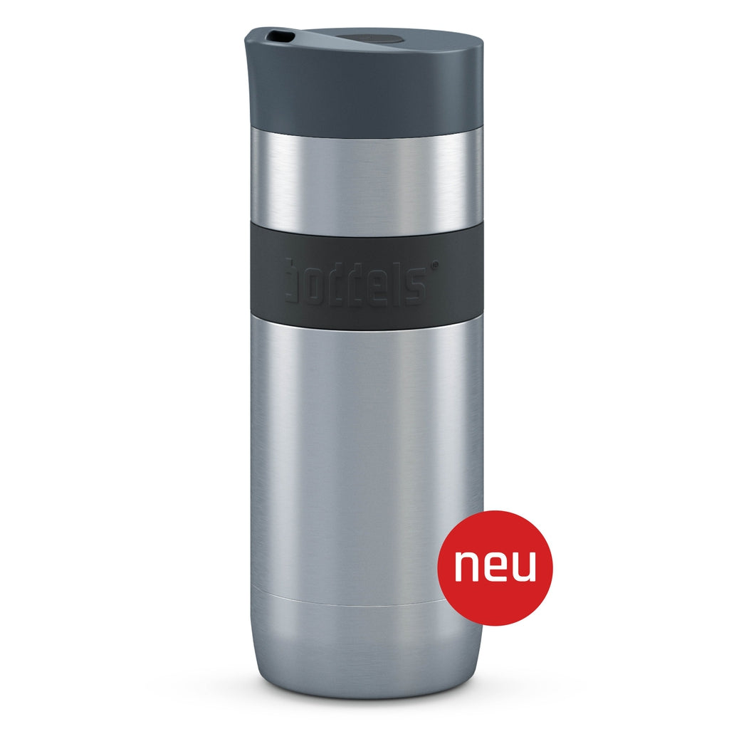 Thermal reusable vacuum mug - 370ML - Anthracite Grey-Nook & Cranny Gift Store-2019 National Gift Store Of The Year-Ireland-Gift Shop