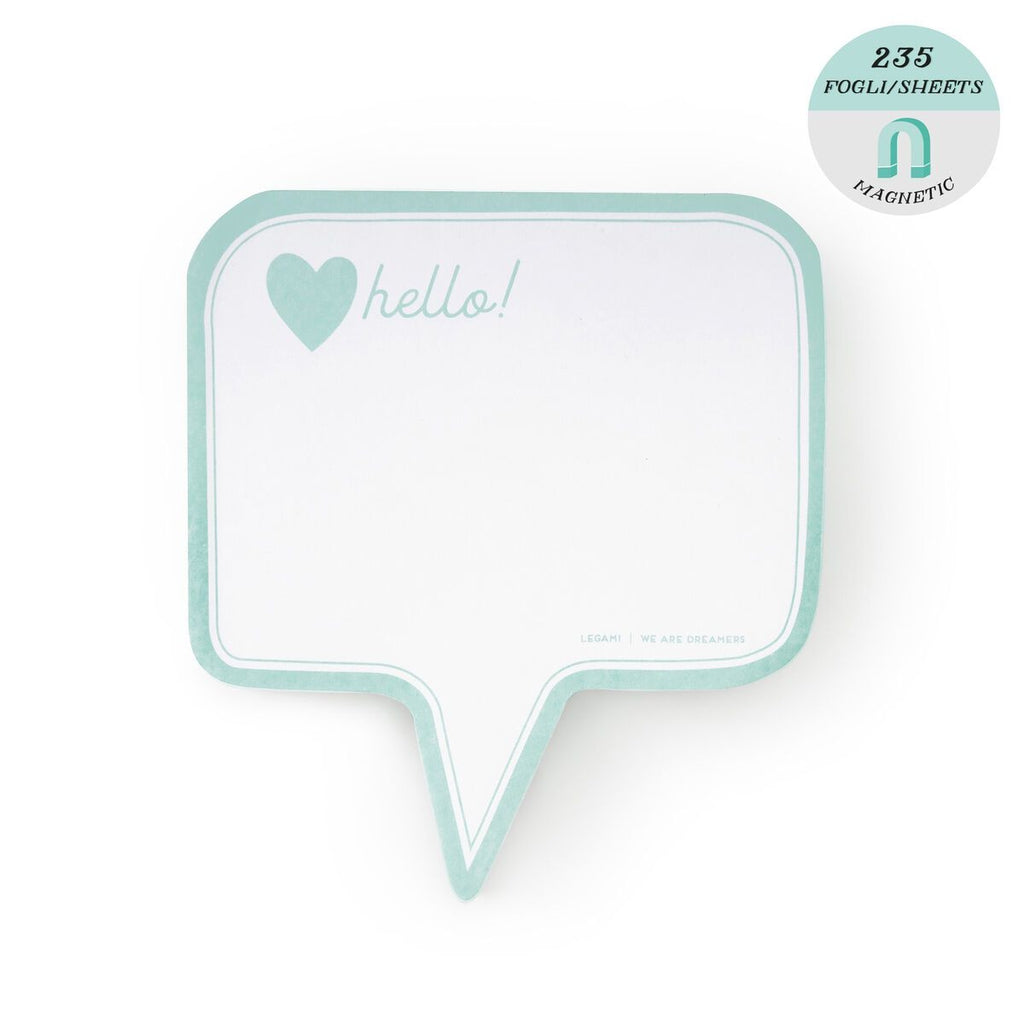 Magnetic Notepad ... (Hello)-Nook & Cranny Gift Store-2019 National Gift Store Of The Year-Ireland-Gift Shop