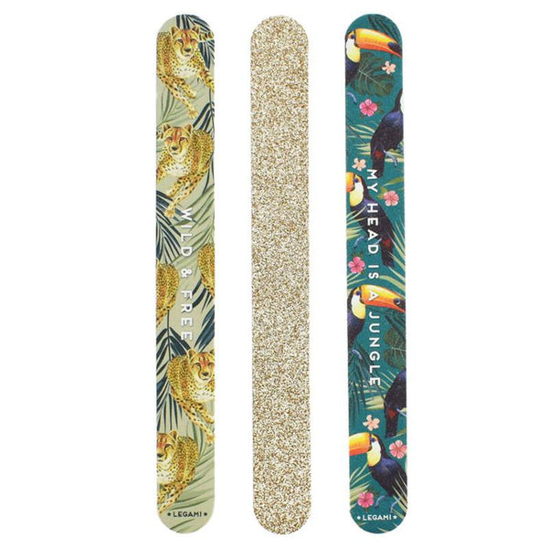 Nails before Males - Set of 3 Nail Files - Be Wild-Nook & Cranny Gift Store-2019 National Gift Store Of The Year-Ireland-Gift Shop