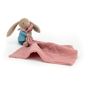 Little Rambler Bunny Soother Blanket - by Jellycat-Nook & Cranny Gift Store-2019 National Gift Store Of The Year-Ireland-Gift Shop