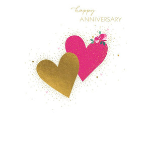 Happy Anniversary ... card (blank inside)-Nook & Cranny Gift Store-2019 National Gift Store Of The Year-Ireland-Gift Shop