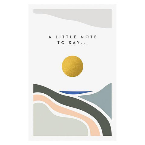 A Little Note To Say ..... Pack of 10 Note Cards-Nook & Cranny Gift Store-2019 National Gift Store Of The Year-Ireland-Gift Shop
