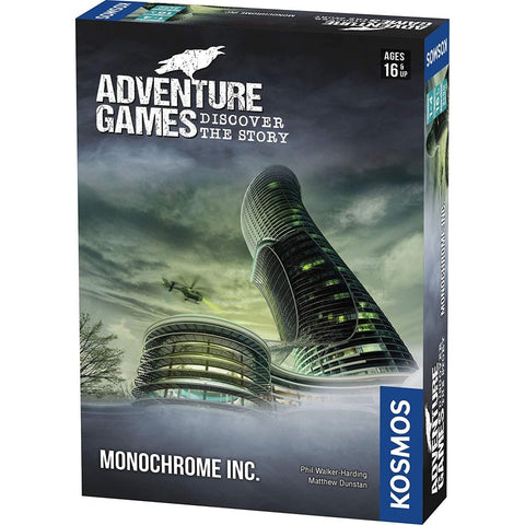 Adventure Games - Monochrome Inc.-Nook and Cranny - 2019 REI National Gift Store of the Year