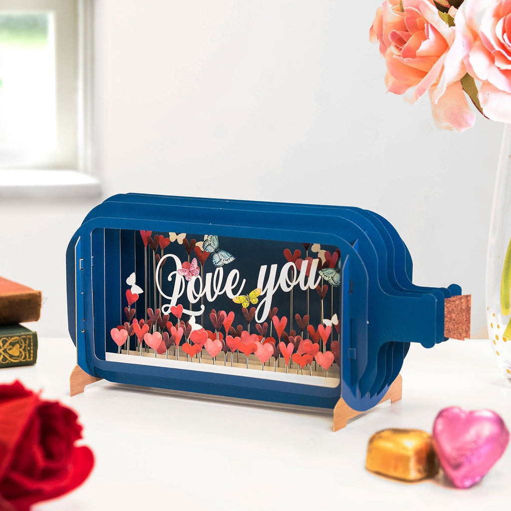 Love You - Pop up card.-Nook & Cranny Gift Store-2019 National Gift Store Of The Year-Ireland-Gift Shop