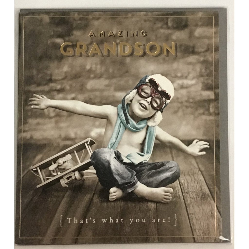 Amazing Grandson Card-Nook and Cranny - 2019 REI National Gift Store of the Year