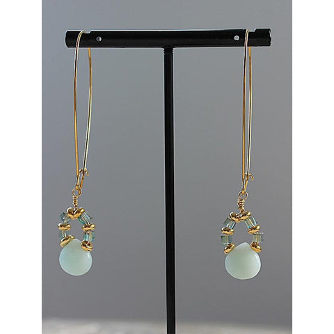 Amazon delight Teardrop earrings - Long-Nook and Cranny - 2019 REI National Gift Store of the Year