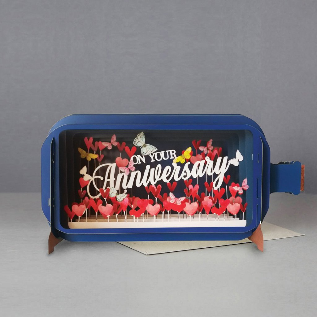 Anniversary 3D Pop up Card-Nook & Cranny Gift Store-2019 National Gift Store Of The Year-Ireland-Gift Shop