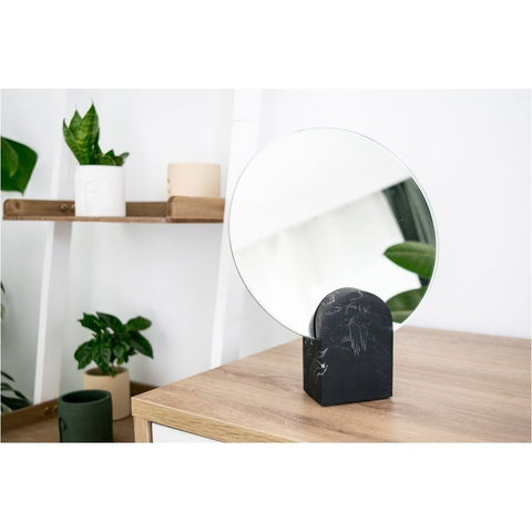 Archie Mirror - Black Marble style-Nook and Cranny - 2019 REI National Gift Store of the Year