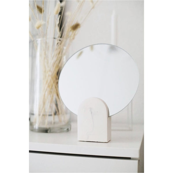 Archie Mirror - White Marble style-Nook & Cranny Gift Store-2019 National Gift Store Of The Year-Ireland-Gift Shop