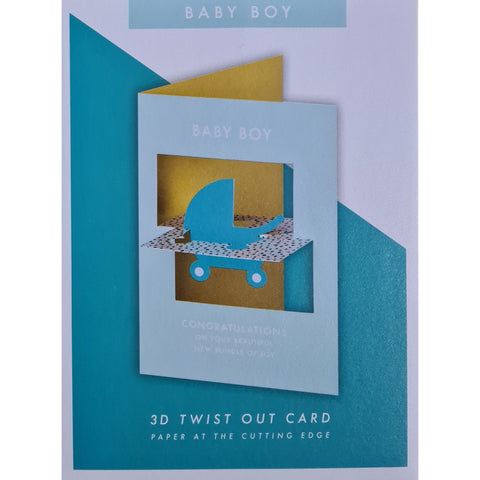 Baby Boy Card-Nook & Cranny Gift Store-2019 National Gift Store Of The Year-Ireland-Gift Shop