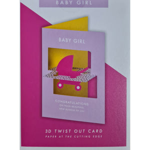 Baby Girl Card-Nook & Cranny Gift Store-2019 National Gift Store Of The Year-Ireland-Gift Shop