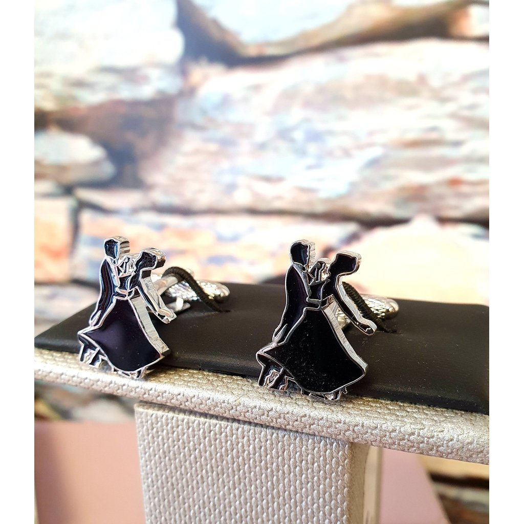 Ballroom Dancer Cufflinks-Nook & Cranny Gift Store-2019 National Gift Store Of The Year-Ireland-Gift Shop