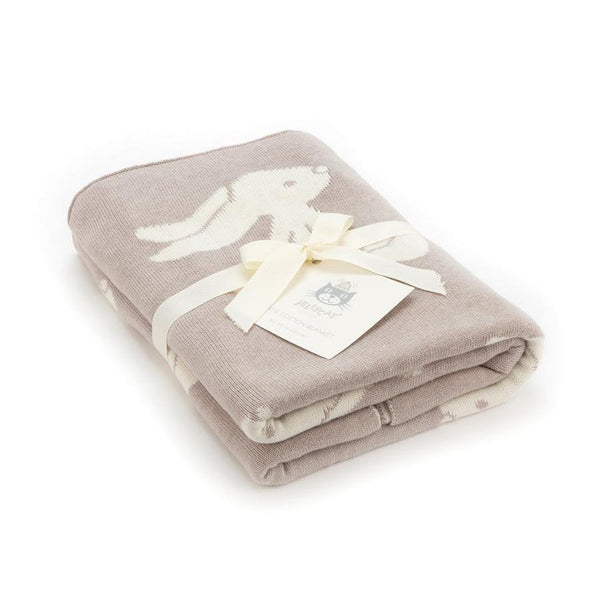 Bashful Beige Bunny Blanket by Jellycat-Nook and Cranny - 2019 REI National Gift Store of the Year