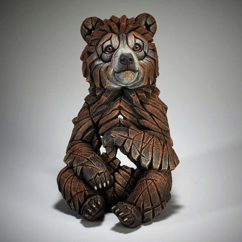Bear Cub Sculpture (Stock item)-Nook and Cranny - 2019 REI National Gift Store of the Year