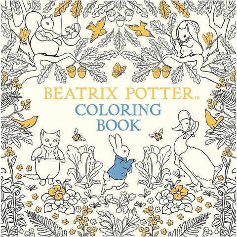 Beatrix Potter Colouring Book - 45 pages-Nook and Cranny - 2019 REI National Gift Store of the Year