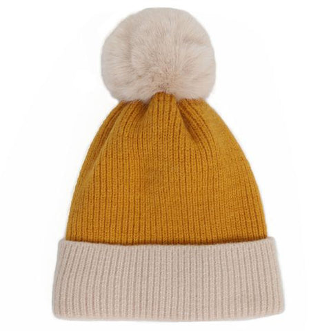 Bonnie Hat in Mustard/ Cream-Nook and Cranny - 2019 REI National Gift Store of the Year