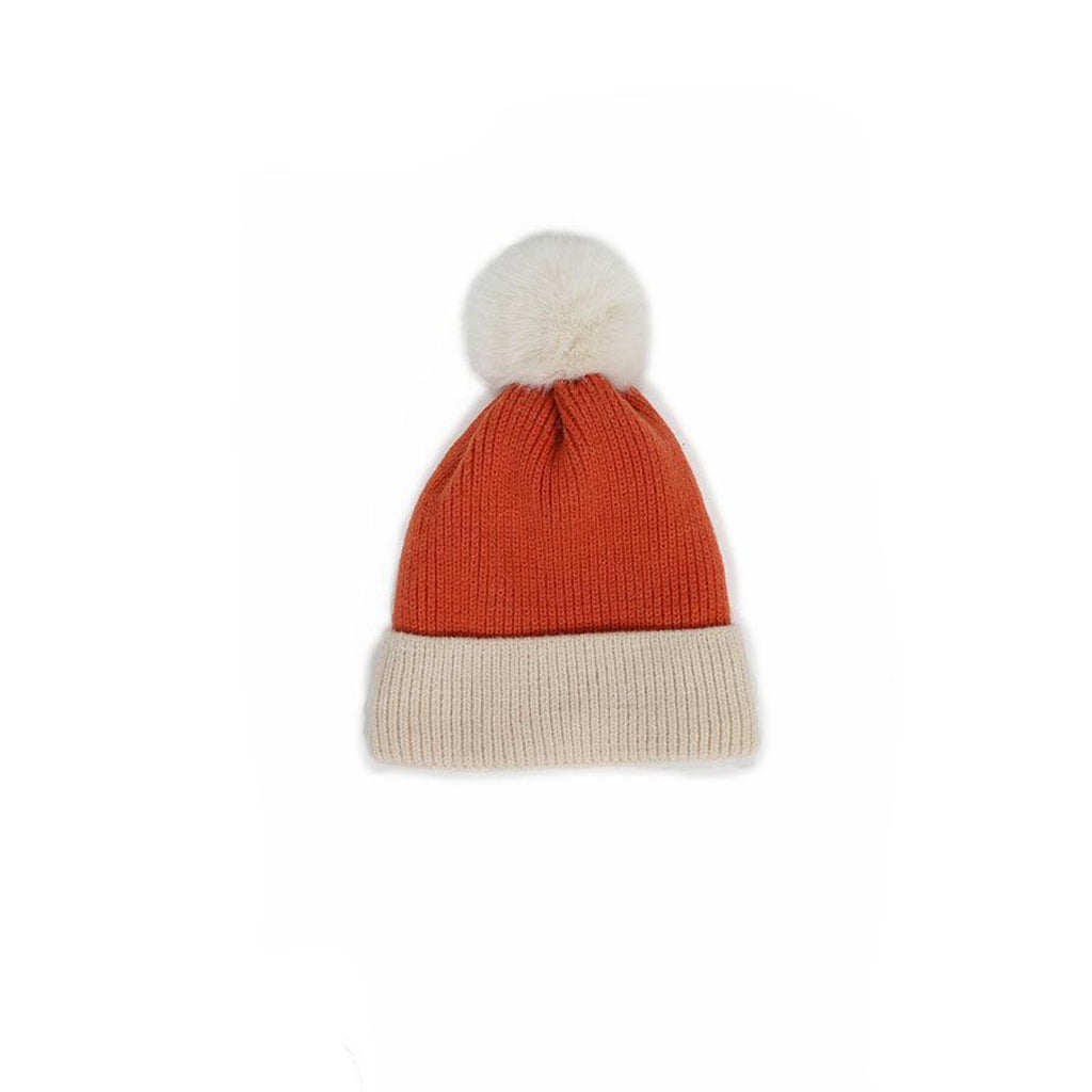 Bonnie Hat in Tangerine/ Cream-Nook & Cranny Gift Store-2019 National Gift Store Of The Year-Ireland-Gift Shop