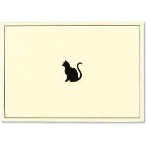 Box Set 14 Note Cards & 15 Envelopes - Black Cat-Nook and Cranny - 2019 REI National Gift Store of the Year