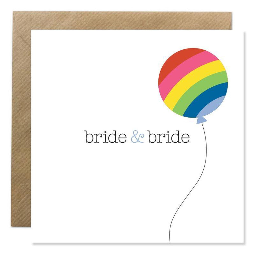 Bride & Bride Wedding Card-Nook & Cranny Gift Store-2019 National Gift Store Of The Year-Ireland-Gift Shop