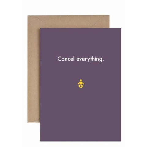 Cancel everything - card-Nook & Cranny Gift Store-2019 National Gift Store Of The Year-Ireland-Gift Shop
