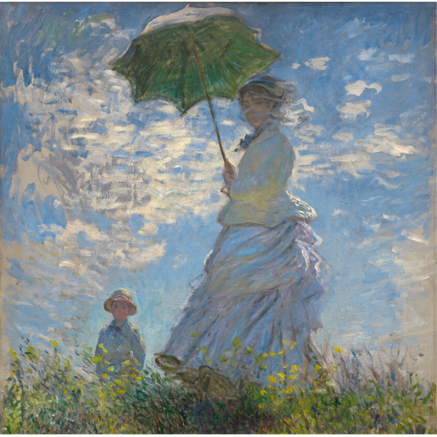 Claude Monet - Madame Monet and Her Son Card-Nook & Cranny Gift Store-2019 National Gift Store Of The Year-Ireland-Gift Shop