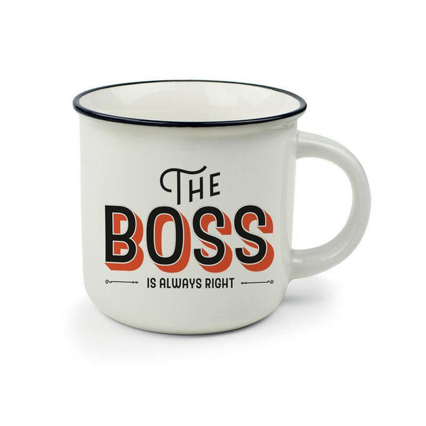 Coffee Mug - The Boss-Nook & Cranny Gift Store-2019 National Gift Store Of The Year-Ireland-Gift Shop