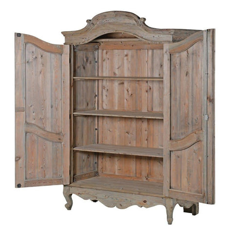 Colonial Reclaimed Pine Armoire-Nook and Cranny - 2019 REI National Gift Store of the Year