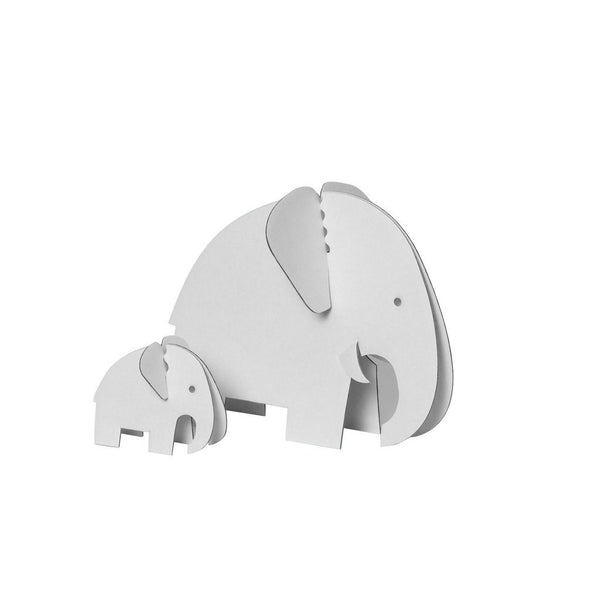 Colour-In 3D Elephants-Nook and Cranny - 2019 REI National Gift Store of the Year
