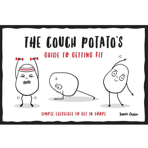 Couch Potato's Guide To Getting Fit - Handbook-Nook & Cranny Gift Store-2019 National Gift Store Of The Year-Ireland-Gift Shop