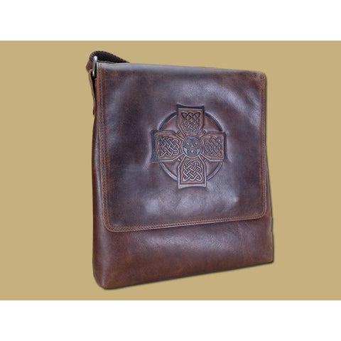 Cross body Leather Satchel - Made in Ireland-Nook and Cranny - 2019 REI National Gift Store of the Year