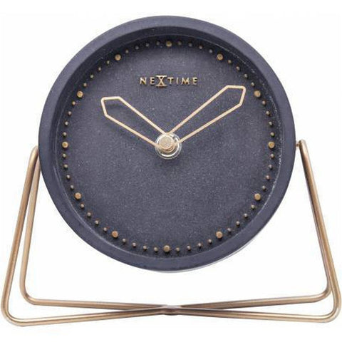Cross Table Clock - 17.5cm (Black)-Nook and Cranny - 2019 REI National Gift Store of the Year