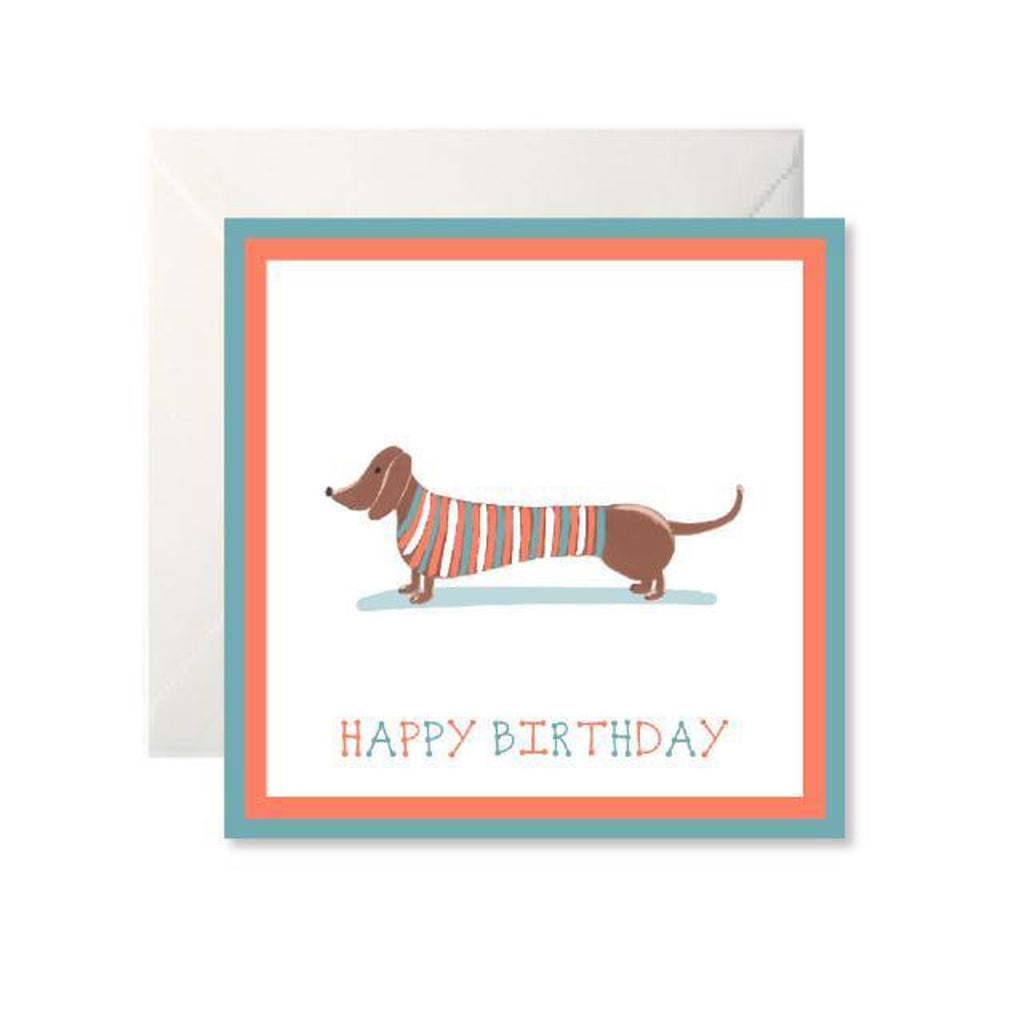 Dachshund Happy Birthday Card-Nook and Cranny - 2019 REI National Gift Store of the Year