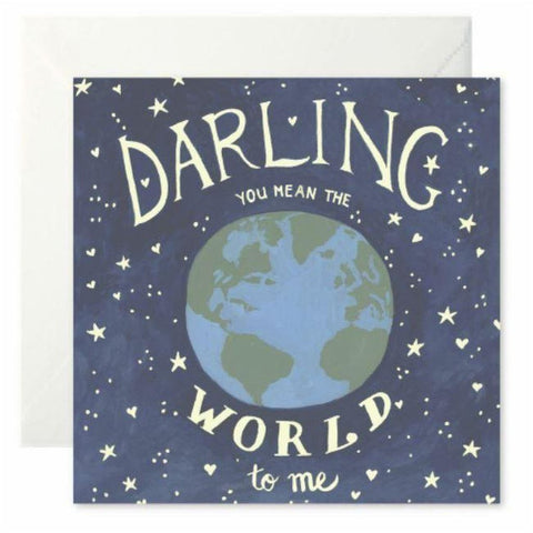 Darling You Mean The World To Me - card-Nook and Cranny - 2019 REI National Gift Store of the Year