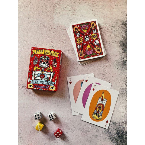 Day of the Dead - Playing Cards-Nook and Cranny - 2019 REI National Gift Store of the Year