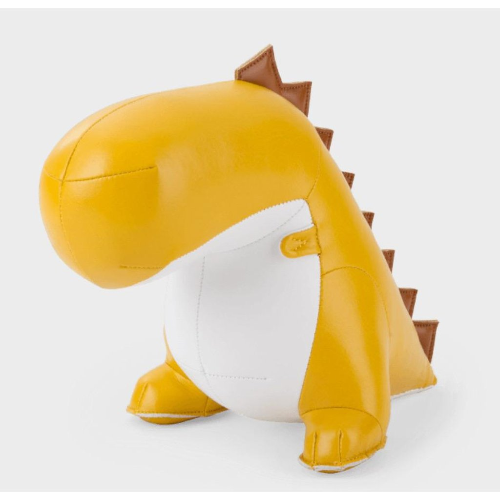 Dinosaur Bobo Bookend Yellow-Nook and Cranny - 2019 REI National Gift Store of the Year