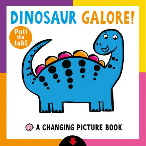 Dinosaur Colour Change - Interactive kids book (hardback)-Nook and Cranny - 2019 REI National Gift Store of the Year