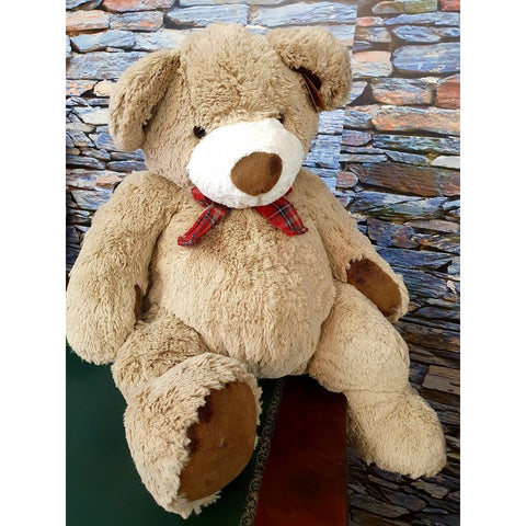 Djemy Plush Luxury Teddy Bear - 84cms tall-Nook & Cranny Gift Store-2019 National Gift Store Of The Year-Ireland-Gift Shop
