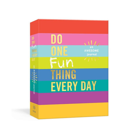 Do one fun thing a day - Journal for kids ages 6 - 10 to unplug and get creative!-Nook and Cranny - 2019 REI National Gift Store of the Year