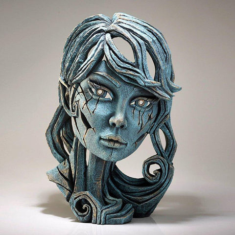 Elf Bust Sculpture - Aqua-Nook and Cranny - 2019 REI National Gift Store of the Year