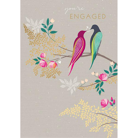 Engaged Birds - Card-Nook & Cranny Gift Store-2019 National Gift Store Of The Year-Ireland-Gift Shop
