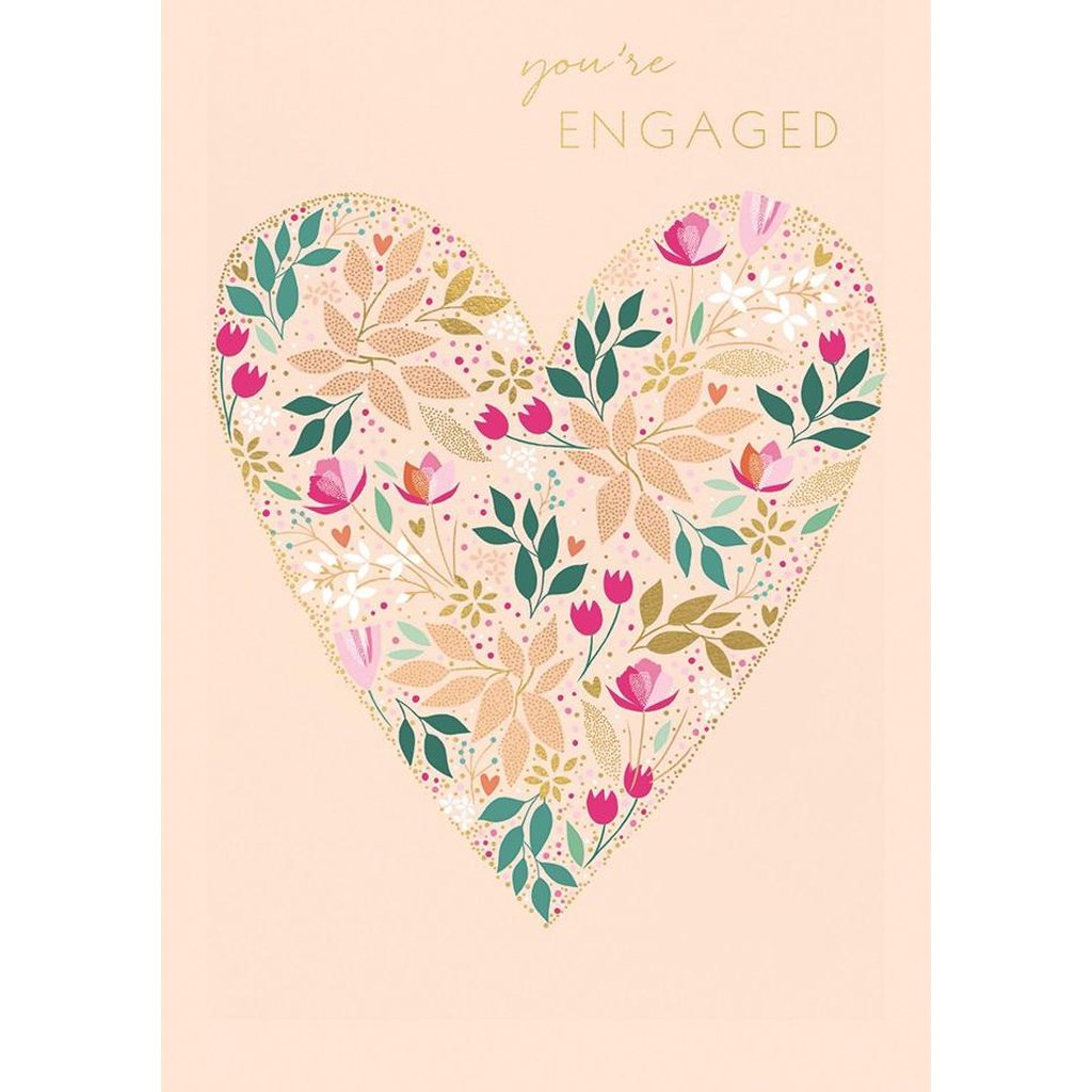 Engaged Floral - Card-Nook and Cranny - 2019 REI National Gift Store of the Year