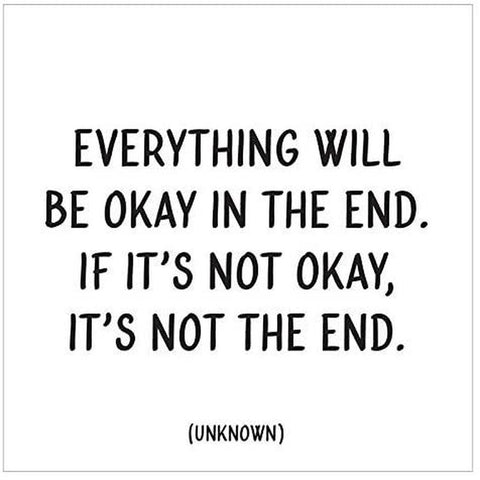 Everything will be okay in the end...Card-Nook and Cranny - 2019 REI National Gift Store of the Year