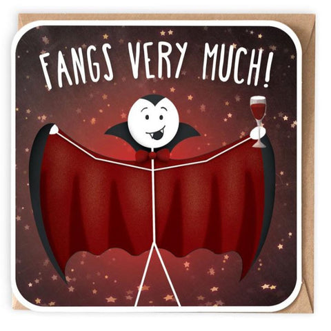 Fangs very much - Card-Nook and Cranny - 2019 REI National Gift Store of the Year