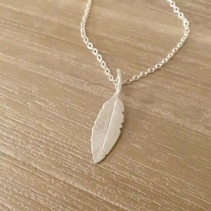 Feathers Appear Sterling Silver Necklace - Made in Laois!-Nook & Cranny Gift Store-2019 National Gift Store Of The Year-Ireland-Gift Shop