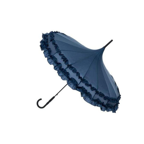 Filled Pagoda Umbrella - Navy-Nook and Cranny - 2019 REI National Gift Store of the Year