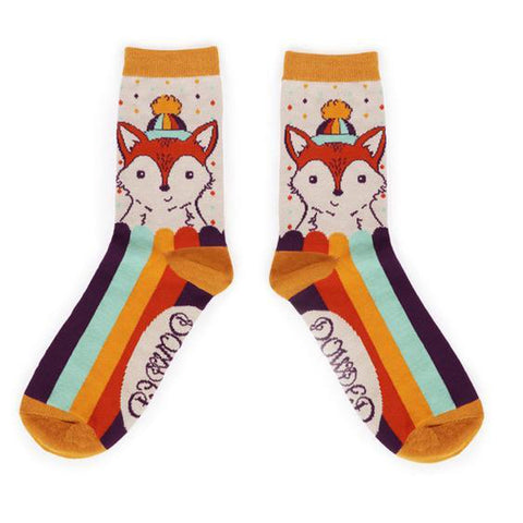Foxy Ankle Socks-Nook and Cranny - 2019 REI National Gift Store of the Year