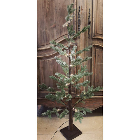 Frosted Fir Tree with Lights-Nook and Cranny - 2019 REI National Gift Store of the Year